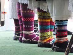 Чорапи от с. Челопек ,Враца