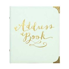 Mint and Gold Address Book ~ Refillable My Christmas List, Christmas 2017, Book Binder, Address Books, Gold Paper, Books To Buy, Gift Store, Cool Websites, Best Part Of Me