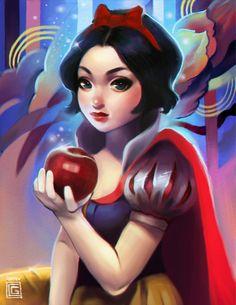 snow white fan art - Pesquisa Google