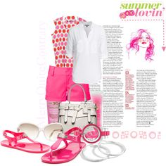 Summer lovin', created by merryquitecontrary2.polyvore.com
