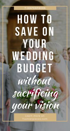 I was so tired of reading wedding budgeting articles telling me I couldn't have my dread wedding on my budget. But then I came across this article and it gave me SO MANY great tips for pulling off my dream wedding on a limited budget. If you're planning a wedding on a budget-PIN IT NOW! You won't regret it.