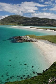 Achmelvich Beach, Highlands: Leave your passport at home. This might look like a Mediterranean sun-trap, but it's actually Achmelvich Beach in the Highlands of Scotland.