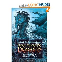 Here, There Be Dragons (Chronicles of the Imaginarium Geographica). IMO, I liked the original idea of this book but it dragged in places. I am reading the whole set so will let you know more when I finish