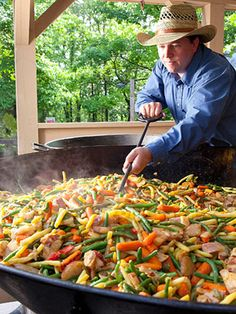 """The scent of succotash cooking in enormous cast-iron skillets lures visitors at Silver Dollar City, beyond the shores of Table Rock Lake. Not only does it smell and taste good, Midwest Living considers it one of the """"25 Coolest Midwest Lake Vacation Spots!"""""""