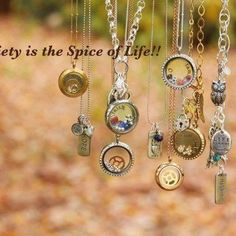 Variety is the spice of life!  Especially if it's in a locket!