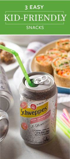 Since your family is always looking for refreshing combinations to help them cool down this summer, pair their favorite flavor of Schweppes Sparkling Seltzer Water with these recipes for veggie roll-ups, watermelon pizza, and homemade granola balls. For inspiration of healthy and delicious treats to serve all season long, check out these 3 Easy Kid-Friendly Snacks!  Each one is sure to have everyone smiling. Plus, you can find everything you need at ShopRite!