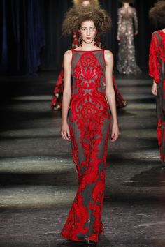 73c5b7075197 Naeem Khan Fall 2016 Ready-to-Wear Fashion Show
