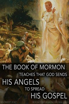 """When the coming of the expected Savior was finally near, the Book of Mormon record indicates that the scriptures began to be fulfilled, and angels began (again) to appear to """"wise men"""". Why did Mormon interrupt his narrative to specify that angels began to appear to wise men? https://knowhy.bookofmormoncentral.org/content/why-does-mormon-state-that-%E2%80%98angels-did-appear-unto-wise-men%E2%80%99 #Angel #Angels #Miracles #God #Prophets #BookofMormon #Faith #Mormon #LDS"""