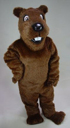 Fun 'n Folly Gopher / Groundhog Mascot Costume
