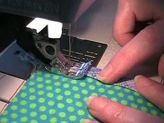 video - how to topstitch and edgestitch