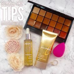 It's summer, it's hot, it's dry, and it's damaging to your skin…😔 Get summer…