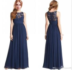 Navy Blue Chiffon Junior Girls Bridesmaid Dresses With Lace Neck A-line Ruffled Prom Dresses 2015 New Style Cheap Maid Of Honor Gowns Zipper from Snowqueen98,$69.37   DHgate.com