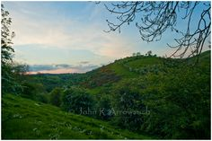 """Spring and Hawthorn is in bloom. I was chasing stormy clouds, with amazing Sun shafts of light, but alas when I reached this location """"Wetton"""", the cloud had vanished, but still a very pleasant image. Under The Lights, Super Moon, Peak District, Photographic Prints, New Friends, Landscape Photography, Clouds, Sun, Fine Art"""