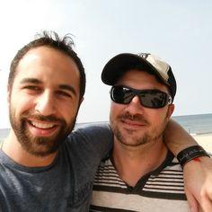 Sept 25 Drunk off the Sun at Lake Michigan! Hanging with Dana B