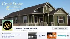 Visit Colorado Springs based CreekStone Homes: http://creekstone-homes.com/  This beautiful new home on the west side is located in Gold Hill Mesa. Current cover on Facebook for Springs Business https://www.facebook.com/SpringsBusiness