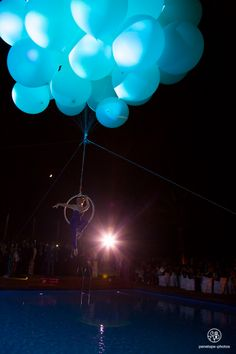 Helium Balloon Shows - Balloon Aerial Acts | International - a Contraband event!!