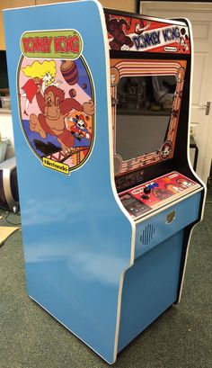 Home Computer Museum - Exhibits of retro computers and consoles from the to the Manufacturers such as Sinclair, Commodore, Atari, Sega and Nintendo. Donkey Kong Arcade Machine, Home Computer, Museum Exhibition, Arcade Games, Retro, Projects, Rustic, Tile Projects