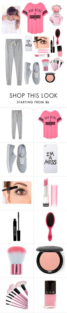 """Pink"" by samy-101 ❤ liked on Polyvore featuring interior, interiors, interior design, home, home decor, interior decorating, Steven Alan, LAUREN MOSHI, Revlon and Lord & Berry"