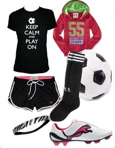 920fb7e8cf8 7 Best Cute Soccer Outfits images   Athletic wear, Football outfits ...
