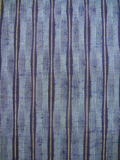 Silk & Wool japanese kimono fabric tsumugi weave door GreatTextiles, $12.90