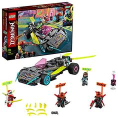 Shop LEGO Ninjago Ninja Tuner Car 71710 at Best Buy. Find low everyday prices and buy online for delivery or in-store pick-up. Building Toys For Kids, Toy Cars For Kids, Lego Building, Building Games, Shop Lego, Buy Lego, Lego Speed Racer, Lego Ninjago Ninja, Ninjago Kai