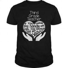 THIRD GRADE TEACHER FULL HEART T SHIRTS - #tee #zip up hoodie. ORDER NOW => https://www.sunfrog.com/Geek-Tech/THIRD-GRADE-TEACHER-FULL-HEART-T-SHIRTS-Black-Guys.html?60505