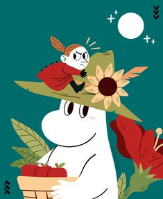 moomin Moomin Valley, Tove Jansson, Cartoon Shows, Little My, Christmas Activities, Art Drawings, Character Design, Illustration Art, Artsy