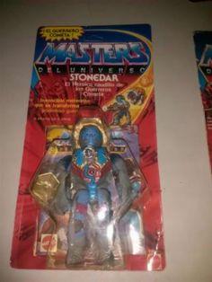 He man masters universo stonedar motu blister 80