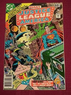 Justice League of America Vol 1 #155 Giant Superman Batman Green Lantern DC Comics - Free Shipping