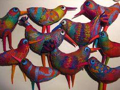 Elisabeth Amstrong's beautiful birds!
