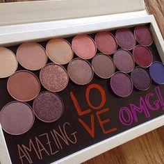 I feel the same damn way about my MUG shadows!!! @_blusher Inc TAG someone who feels the same   #makeupgeek #makeupgeekcosmetics #muginsider #mugster #makeupgeekmafia #zpalette #foiledeyeshadows by makeup_geek_mafia
