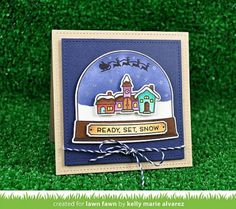 ... - Ready, Set, Snow - Clearstamps - Lawn Fawn - Stempelwunderwelt