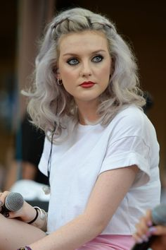 Pin for Later: Perrie Edwards's Brave Face Has Nothing to Do With That Zayn Breakup Big Braids