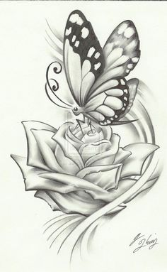 Beautiful pencil drawings of roses 1000 ideas about flower drawings Realistic Flower Drawing, Easy Flower Drawings, Pencil Drawings Of Flowers, Pencil Shading, Pencil Art Drawings, Art Drawings Sketches, Easy Drawings, Tattoo Drawings, Drawing Flowers