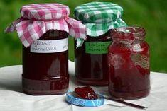 Jednoduchá rybízová marmeláda Ketchup, Salsa, Jar, Bottle, Food, Syrup, Flask, Essen, Salsa Music