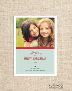 Christmas Photo Card Design