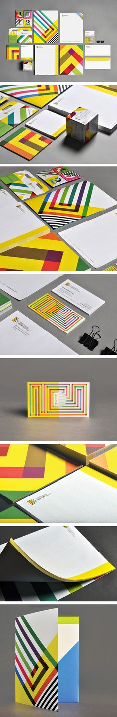 Corporate identity stationary suite and branding design ideas. Business card design.