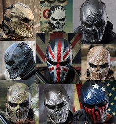 Skull+Mask+Airsoft+Paintball+Cosplay+Full+Face+Protection+Tactical+Gear+M06-+#CHIEFS