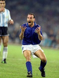 Italian Footballer Salvatore Schillaci.  1990 World Cup