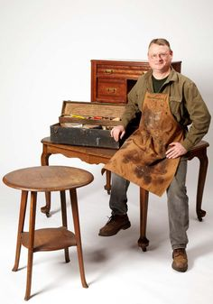 Kevin Southwick - Meet the Expert: Kevin Southwick  Kevin Southwick specializes in the conservation and restoration of antiques and in custom wood finishes.  Read more: http://www.familyhandyman.com/woodworking/furniture-repair/how-to-refinish-furniture/view-all#ixzz3KU5aVzAM