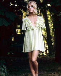 Goldie Hawn Art Print by Silver Screen