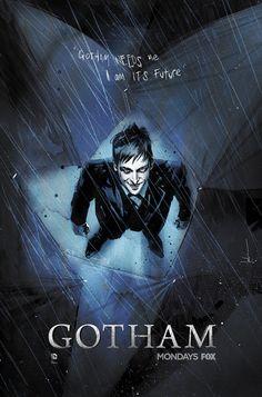 #Gotham recibe la visita de Jock en este #póster exclusivo para la popular serie de #televisión