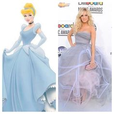 The similarities are uncanny!! Another reason why I LOVE Carrie!!!!!