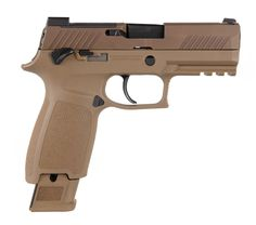 Sig Sauer Announces Civilian Version of Military Handgun Armas Sig Sauer, Sig P320, Striker Fired, Night Sights, Military Guns, Weapon Concept Art, Guns And Ammo, Firearms, Shotguns