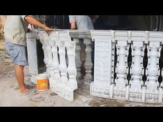 Amazing Creative Construction Worker Make Tiles and Bricks Part 3 Construction Tools, Construction Worker, Cement Art, Roof Cleaning, Concrete Stairs, Concrete Molds, Collections Etc, Concrete Projects, Roof Tiles