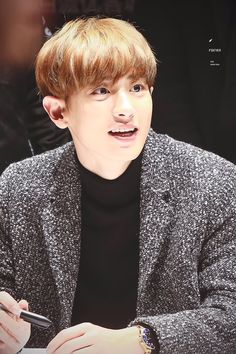 SPAO Fansign in Shanghai - CHANYEOL