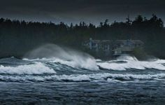 Winter Storm Watching at the Wickaninnish Inn, Tofino, Canada. MUST do this before I die, especially with someone special <3