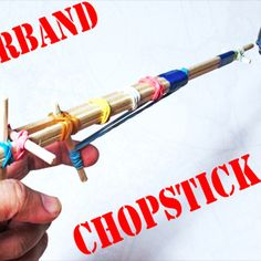 Chopstick Rubber Band Gun Tutorial