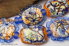 Lampwork Beads by Romana / August 2014