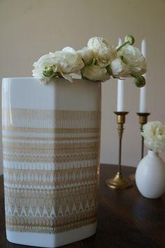 German Ceramic Vase from Wishbone Market